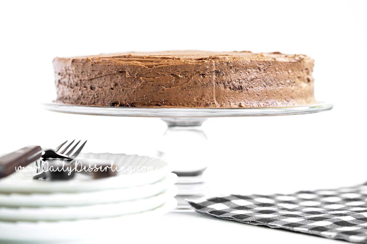 old fashioned chocolate mayo cake