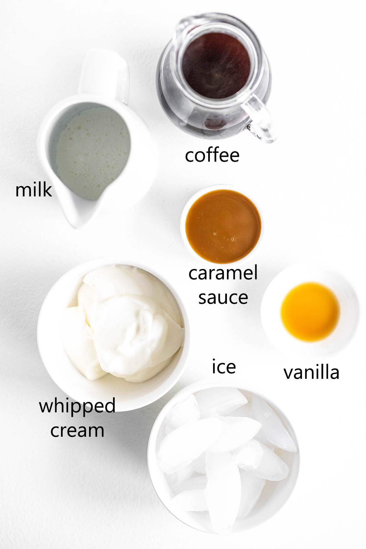 caramel frappuccino ingredients
