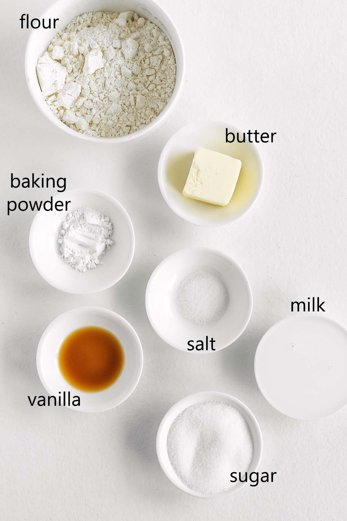 cinnamon roll dough ingredients