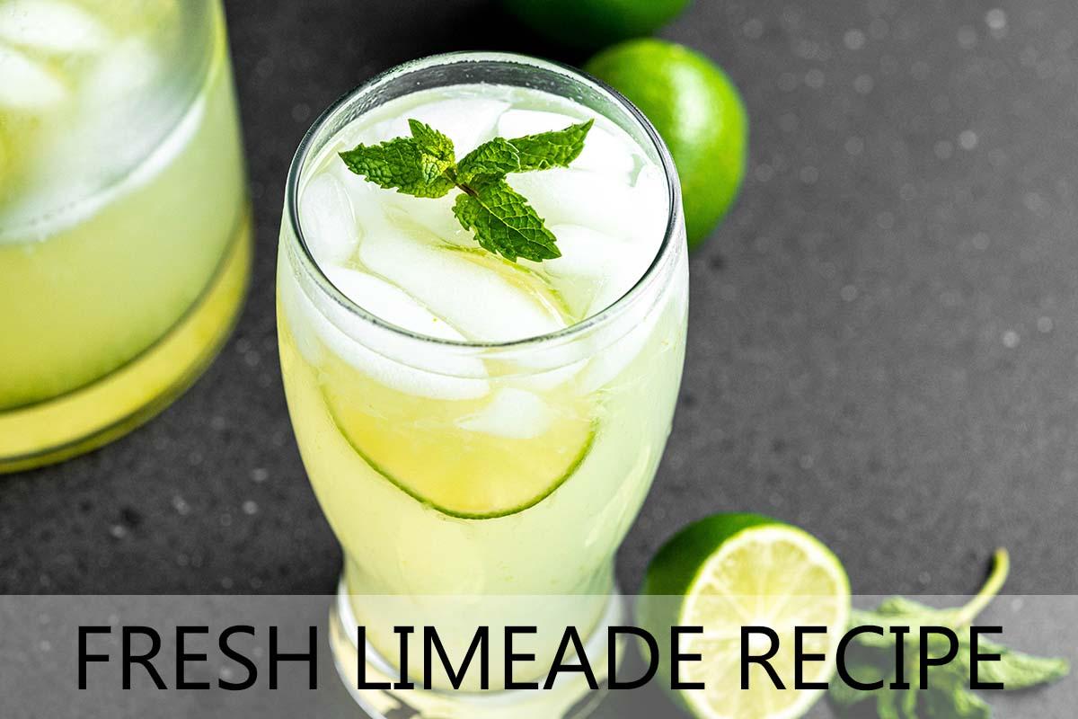 fresh limeade with description