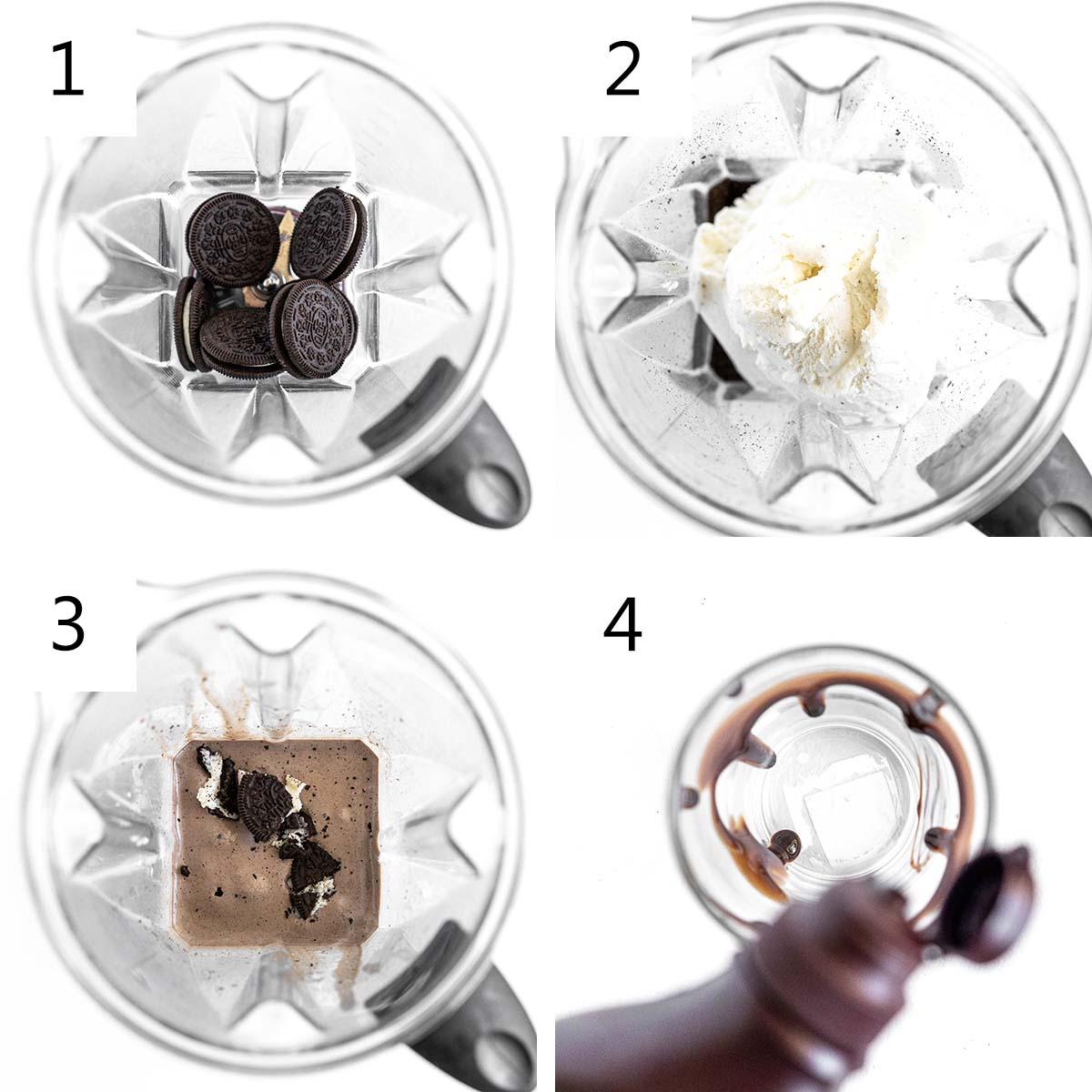 how to make an oreo milkshake