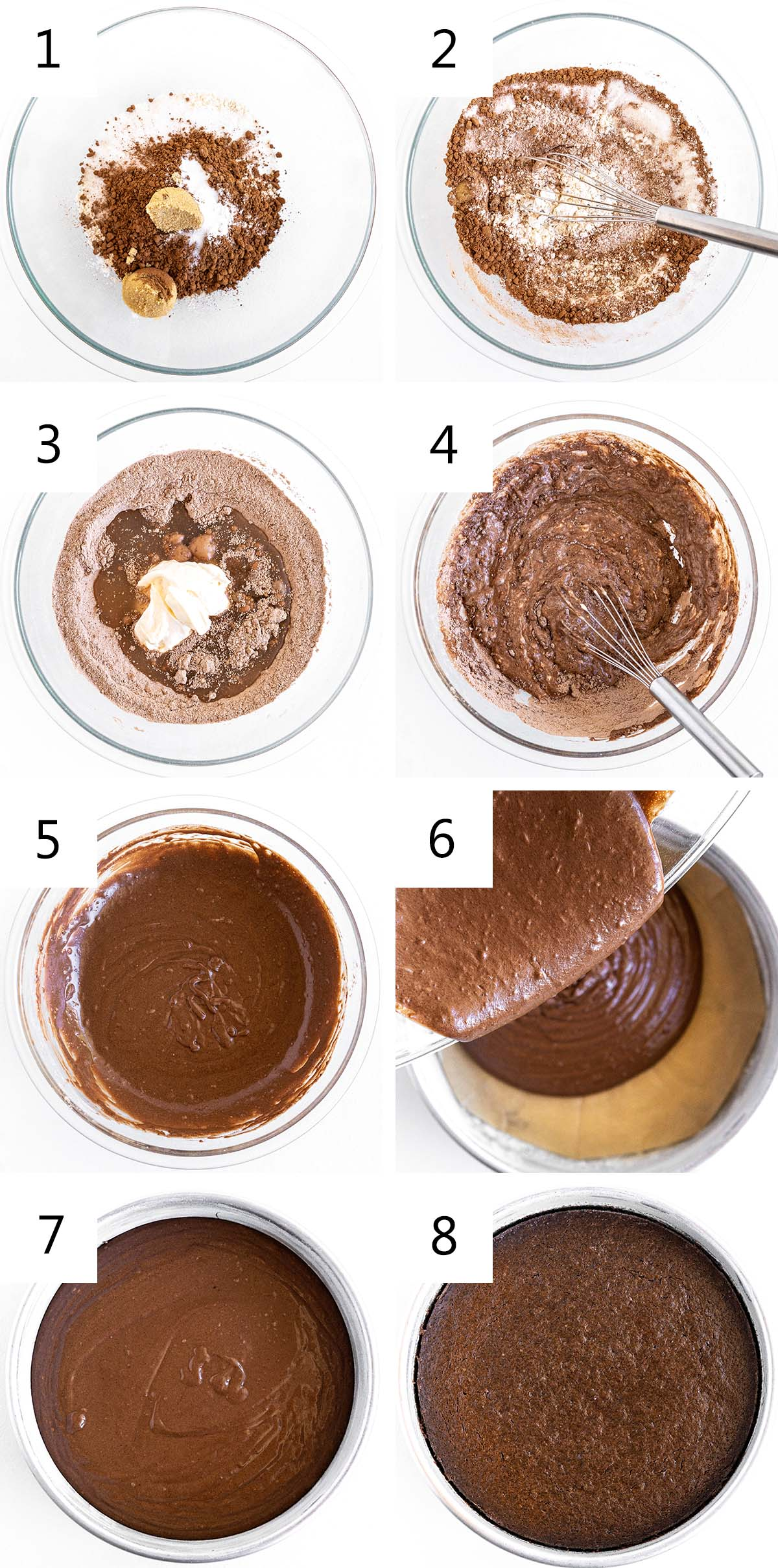 how to make a chocolate mayonnaise cake collage