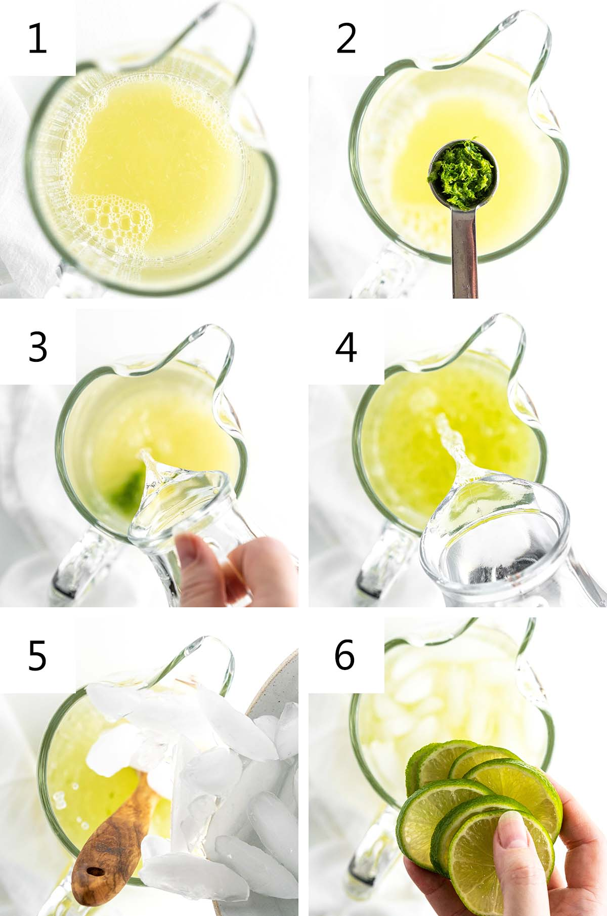 how to make limeade collage
