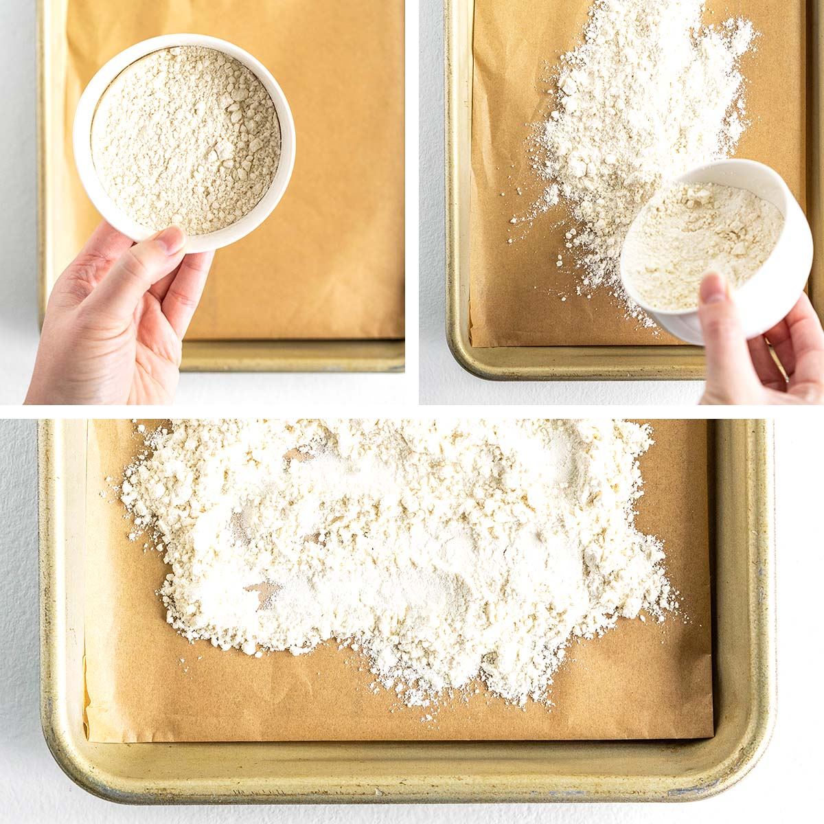 how to make raw flour safe to eat