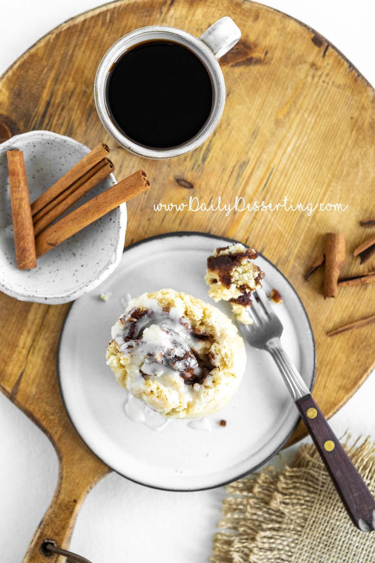 mug cinnamon roll recipe