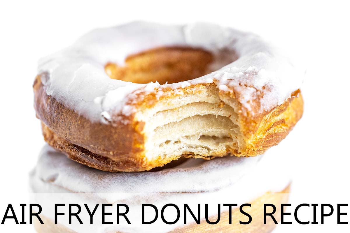 air fryer donuts with description