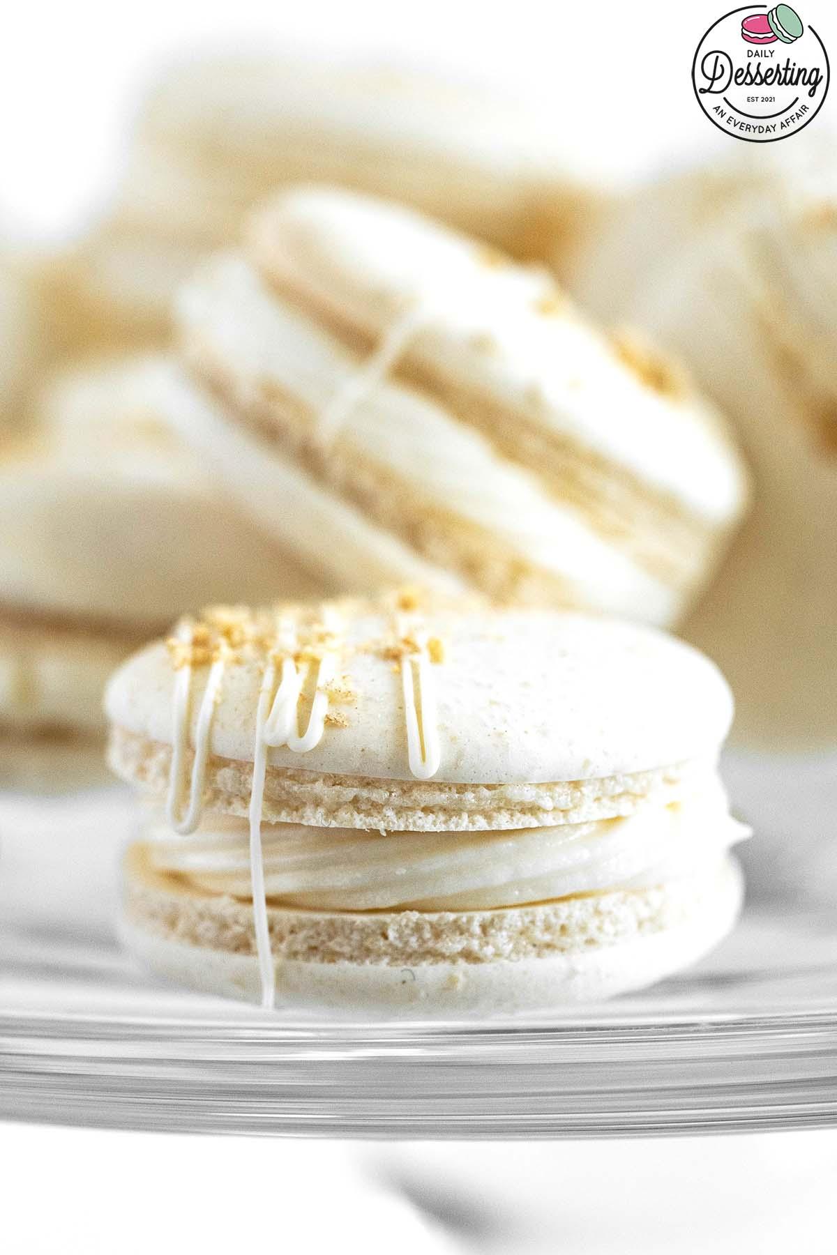 apple pie macarons recipe