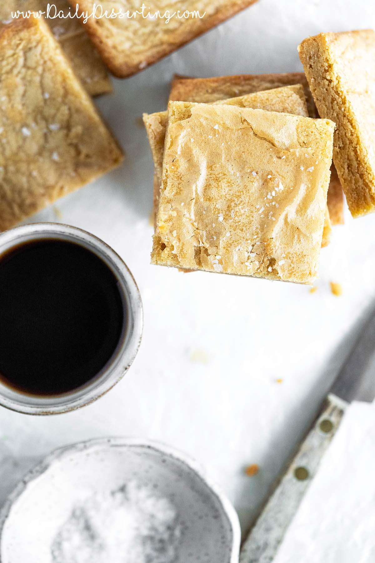best brown butter blondies recipe
