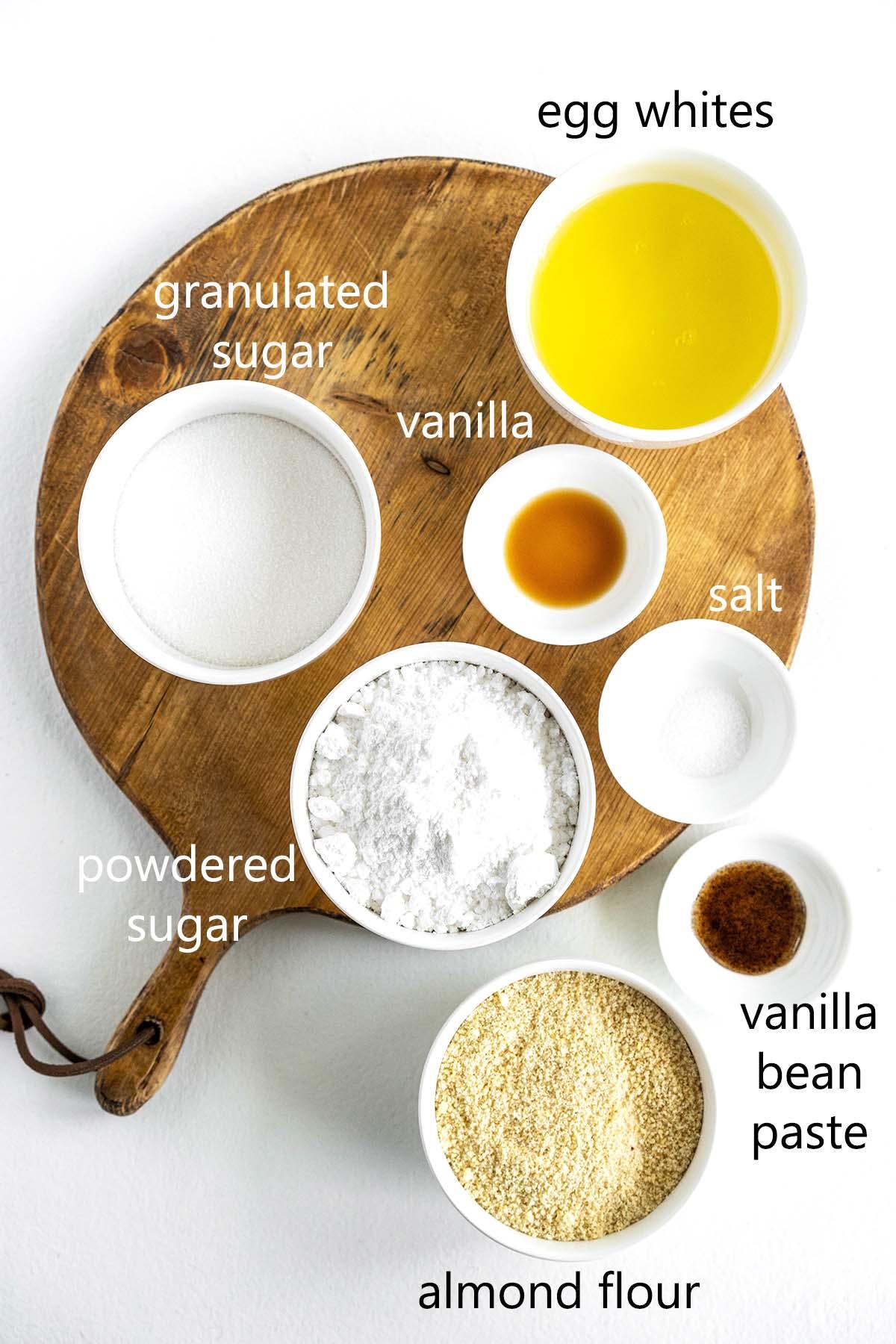 french macaron ingredients
