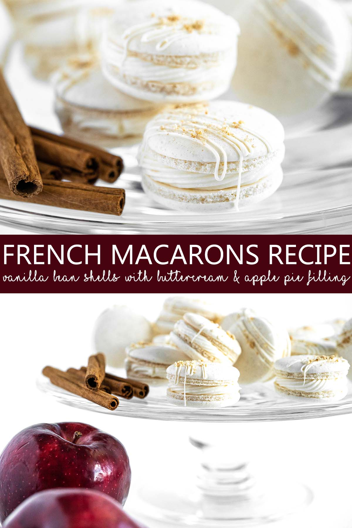 french macarons recipe pin